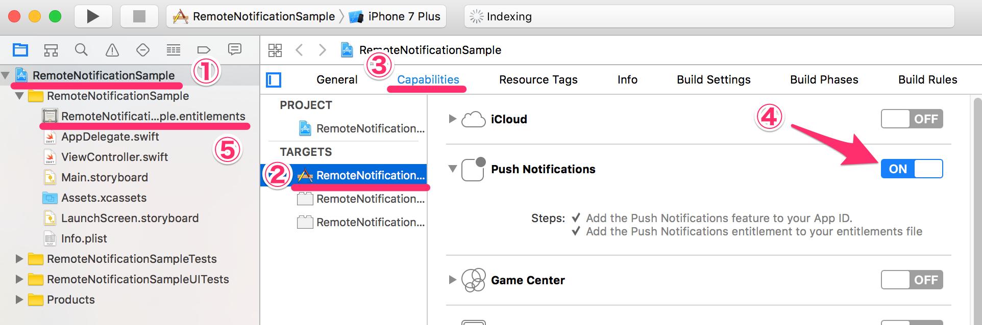 Push Notification (React Native) — Repro documentation